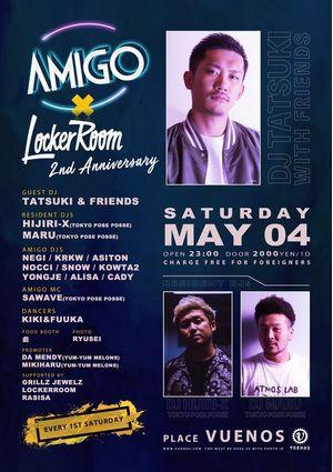 AMIGO × LockerRoom 2nd ANNIVERSARY